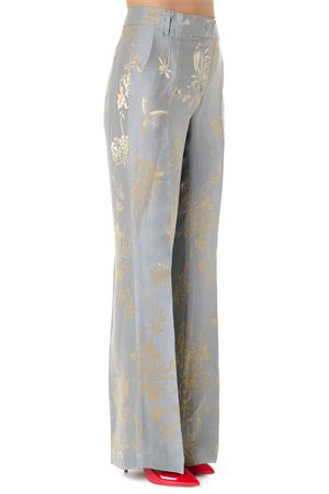 SILK & LINEN GOLD EMBROIDERY PANTS SS19 DONDUP | 8 | DP132FF0327XXXMARIONUNI