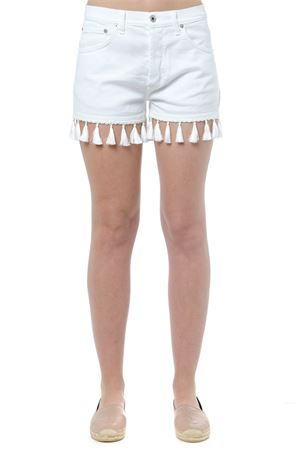 WHITE MICOL COTTON SHORTS SS 2019 DONDUP | 110000034 | DP334NBS0009DMICOL000