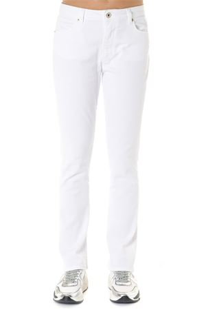 OLLIE WHITE COTTON DENIM JEANS SS 2019 DONDUP | 4 | DP426BS0009PTDOLLIE000