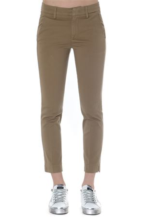 SLIM PANTS IN BEIGE COTTON SS 2019 DONDUP | 8 | DP429GS0023PTDROCIO034