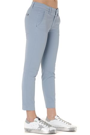 SLIM PANTS IN LIGHT BLUE COTTON SS 2019 DONDUP | 8 | DP429GS0023PTDROCIO858