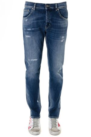 JEANS MIUS IN COTONE STRETCH BLU PE 2019 DONDUP | 4 | UP168DS0229U39MIUS800
