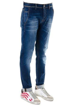 JEANS KONOR BLUE IN COTONE STRETCH PE19 DONDUP | 4 | UP439DS0169U64KONOR800