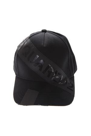 97b615a90c6 ... BCM017305C000012124 DSQ2 BLACK COTTON HAT SS19 DSQUARED2
