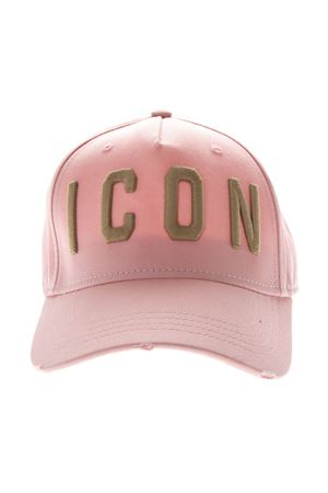 ICON PINK COTTON BASEBALL HAT SS19 DSQUARED2 | 17 | BCW400105C00001M1570