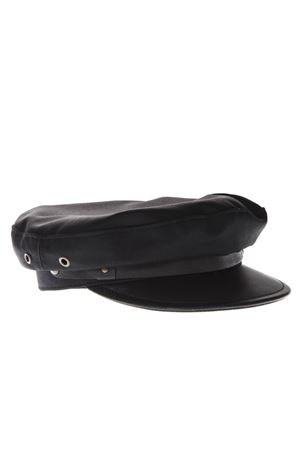 BLACK WOOL FISHERMAN CAP SS 2019 DSQUARED2 | 17 | HAW000505M015902124