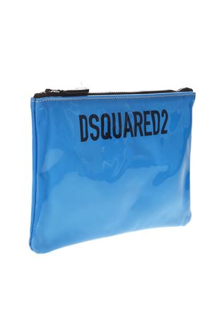 BLUE PVC POUCH WITH LOGO SS 2019 DSQUARED2 | 2 | POM0001358015723083