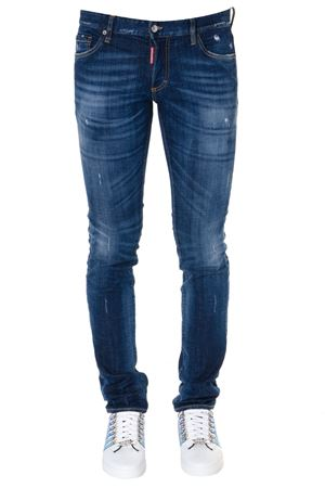 BLUE COTTON FADED JEANS SS19 DSQUARED2 | 4 | S71LB0601S30342470