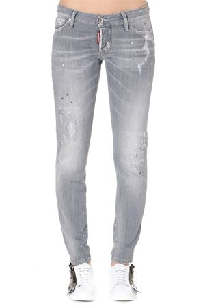 GREY DENIM JENNIFER JEANS SS 2019 DSQUARED2 | 4 | S72LB0170S30260852