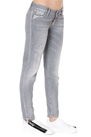 JEANS JENNIFER IN DENIM GRIGIO PE 2019 DSQUARED2 | 4 | S72LB0170S30260852