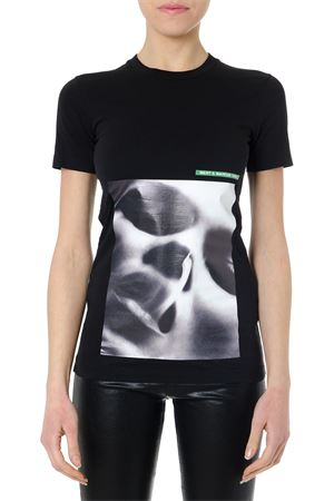T SHIRT STAMPATA IN COTONE NERO PE 2019 DSQUARED2 | 15 | S73GC0237S20694900