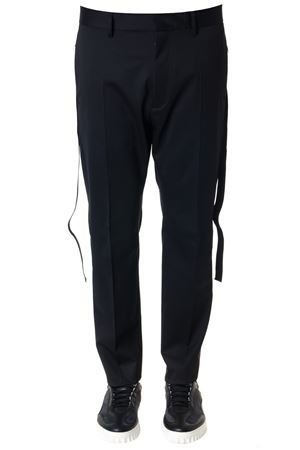 BLACK STRETCH WOOL TROUSERS SS 2019 DSQUARED2 | 8 | S74KB0213S49587900