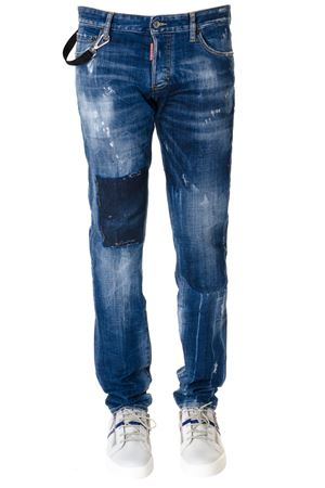 JEANS VICIOUS IN DENIM DI COTONE PE 2019 DSQUARED2 | 4 | S74LB0488S30342470