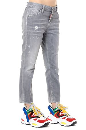JEANS SKINNY IN DENIM  GRIGIO PE 2019 DSQUARED2 | 4 | S75LB0105S30260852