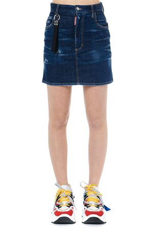 BLUE DENIM DALMA MINI SKIRT SS 2019