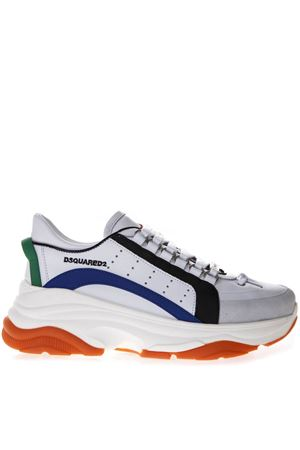 MULTICOLORED BUMPY 551 SNEAKERS IN LEATHER SS 2019 DSQUARED2 | 55 | SNW004111570001M1575