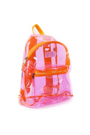 TRANSPARENT PINK PLASTIC BACKPACK SS 19 EASTPAK | 183 | EK62076Z11