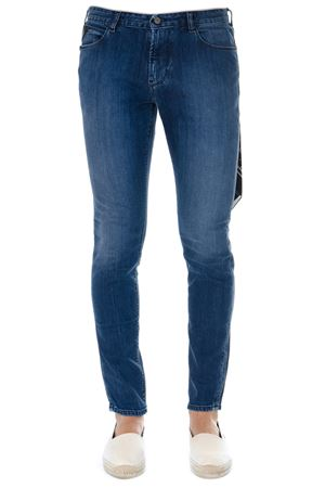 BLUE COTTON 5 POCKETS JEANS SS19 EMPORIO ARMANI | 4 | 3G1J361D5JZ0941