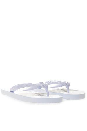 WHITE RUBBER SANDALS SS 2019 EMPORIO ARMANI | 87 | X4P070XL699A227