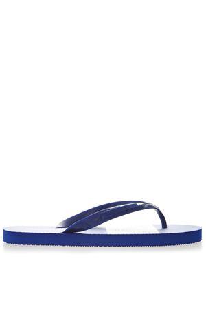 BLUE RUBBER SANDALS SS 2019 EMPORIO ARMANI | 87 | X4P070XL699B228