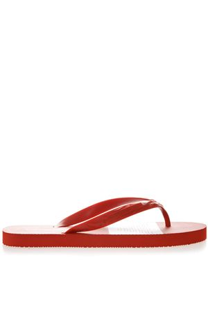 RED RUBBER SANDALS SS 2019 EMPORIO ARMANI | 87 | X4P070XL699D289