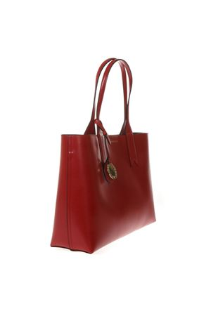 RED SHOPPER IN FAUX LEATHER WITH LOGO CHARM SS 2019 EMPORIO ARMANI | 2 | Y3D081YH15A88158