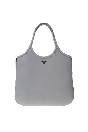 HOBO GREY LEATHER TOTE WITH ZIP AROUND SS 2019 EMPORIO ARMANI | 2 | Y3E139YEU1E80155