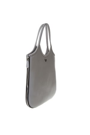 BORSA HOBO CON ZIP AROUND IN PELLE COLOR GRIGIO PE 2019 EMPORIO ARMANI | 2 | Y3E139YEU1E80155