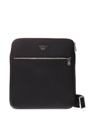 FLAT BAG IN BLACK FAUX LEATHER WITH SHOULDER STRAP SS 2019 EMPORIO ARMANI | 2 | Y4M184YLA0E81072
