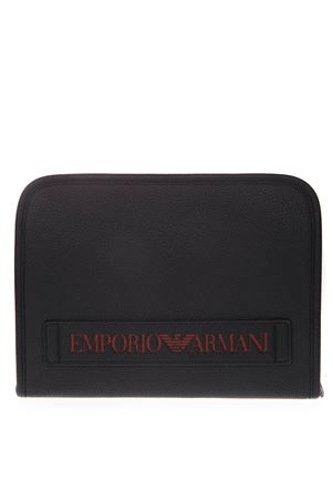 FAUX LEATHER DOCUMENT HOLDER WITH LOGO SS 2019 EMPORIO ARMANI | 5 | Y4R208YG89J83191