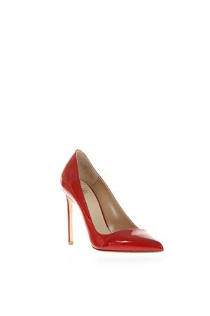 RED PATENT LEATHER PUMPS SS 2019 FRANCESCO RUSSO | 68 | R1P270N202RED