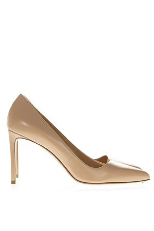 NUDE LEATHER PUMPS SS19 FRANCESCO RUSSO | 68 | R1P340N200NUDE