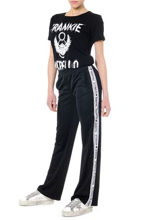 BLACK LOGO BANDS SPORT PANTS SS19 FRANKIE MORELLO | 8 | FWCS9017PAHELENEN01