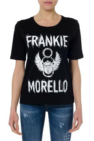 T-SHIRT FRANKIE MORELLO NERA IN COTONE PE19 FRANKIE MORELLO | 15 | FWCS9159TSCHLOEN01