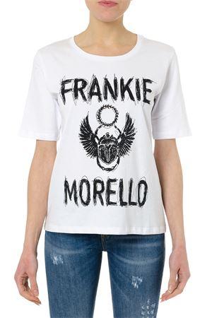 WHITE COTTON FRANKIE MORELLO T-SHIRT FRANKIE MORELLO | 15 | FWCS9159TSCHLOEW02