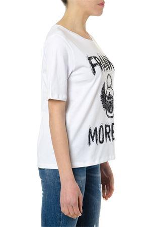 T-SHIRT FRANKIE MORELLO BIANCA IN COTONE PE19 FRANKIE MORELLO | 15 | FWCS9159TSCHLOEW02