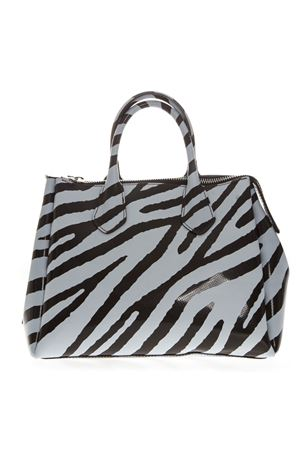 ZEBRA PVC BAG WITH DOUBLE SHOULDER SS 2019 GIANNI CHIARINI | 2 | BS1740T/19PEGUM FLUOSVGUNI225