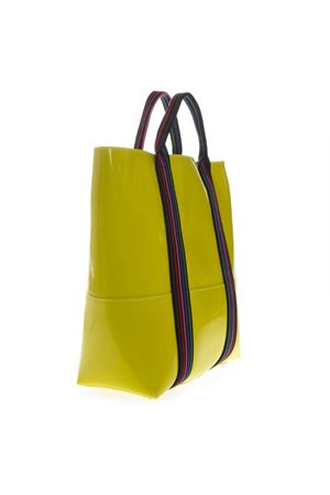 YELLOW VINYL SHOPPING BAG WITH SHOULDER SS 2019 GIANNI CHIARINI | 2 | BS1759/19PE GUM TAPEUNI040