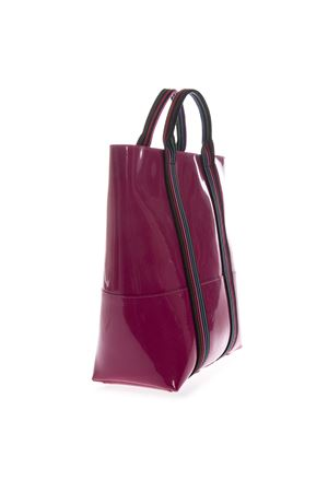 CAMELIA VINYL SHOPPING BAG WITH SHOULDER SS 2019 GIANNI CHIARINI | 2 | BS1759/19PE GUM TAPEUNI4340