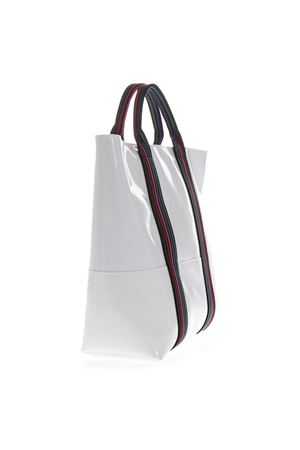 WHITE VINYL SHOPPING BAG WITH SHOULDER SS 2019 GIANNI CHIARINI | 2 | BS1759/19PE GUM TAPEUNI6209