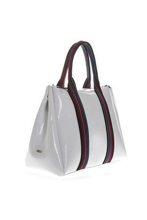WHITE VINYL FOURTY HAND BAG WITH SHOULDER STRAP SS 2019 GIANNI CHIARINI | 2 | BS1986 GUM TAPEUNI6209