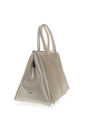 HANDBAG FOURTY IN VINYL CREAM SS 2019 GIANNI CHIARINI | 2 | BS3701/19PE FR SATINUNI3890