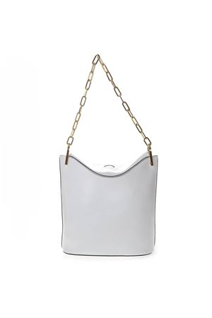 WHITE LEATHER BUCKETT BAG SS 2019 GIANNI CHIARINI | 2 | BS6225/19PE LSRUNI0380