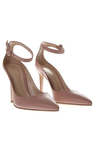 NUDE PINK LEATHER PUMPS SS19 GIANVITO ROSSI | 68 | G2053715RICDAHLIA