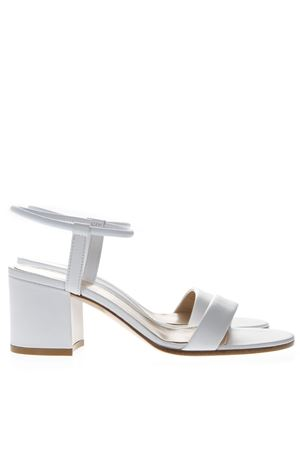 WHITE LEATHER SANDALS SS19 GIANVITO ROSSI | 87 | G3129660RICWHITE