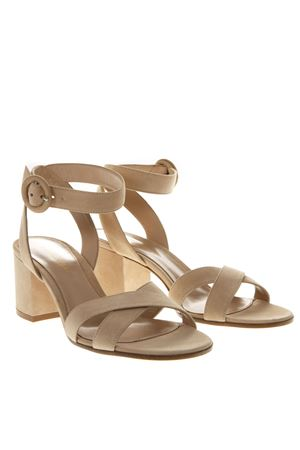 SAND SUEDE SANDALS SS19 GIANVITO ROSSI | 87 | G3144660RICNUDE