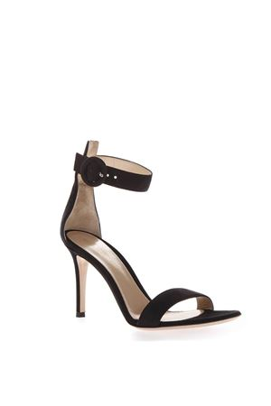 80MM BLACK SUEDE SANDALS SS 2019 GIANVITO ROSSI | 87 | G6095385RICBLACK