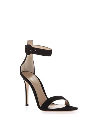 BLACK SUEDE SANDALS WITH 110MM HEEL SS 2019 GIANVITO ROSSI | 87 | G6109615RICBLACK