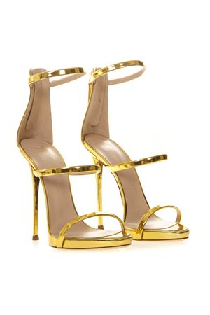 HARMONY METALLIC GOLD LEATHER SANDALS SS 2019 GIUSEPPE ZANOTTI | 87 | I700049SHOTORO058