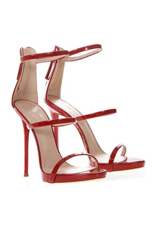 HARMONY RED LEATHER SANDALS SS 2019